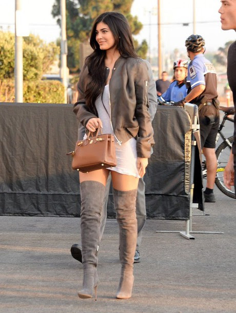 http://picture-cdn.wheretoget.it/zv3pmu-l-610x610-dress-mini+dress-white-white+dress-boots-knee+boots-kylie+jenner-kardashians-purse-jacket-bomber+jacket-shoes-thigh+high+boots-knee+high+boots-suede+boots-kylie+jenner+boots-gray+b.jpg