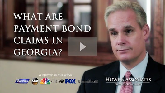 What are Payment Bond Claims in Georgia - Howe & Associates DC