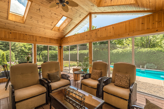 Heating and Cooling Ideas for Screened-in Porches - Modernize