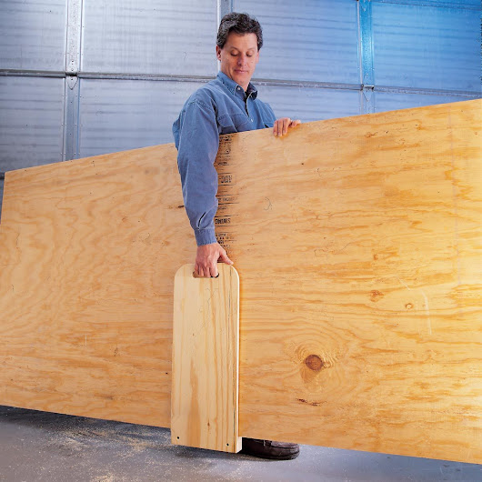 Solo Plywood Transport — The Family Handyman