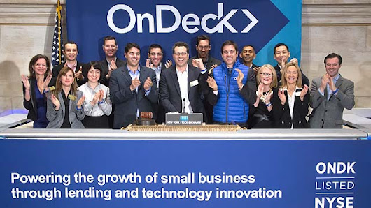 Nontraditional Lender OnDeck raises $200 million in IPO