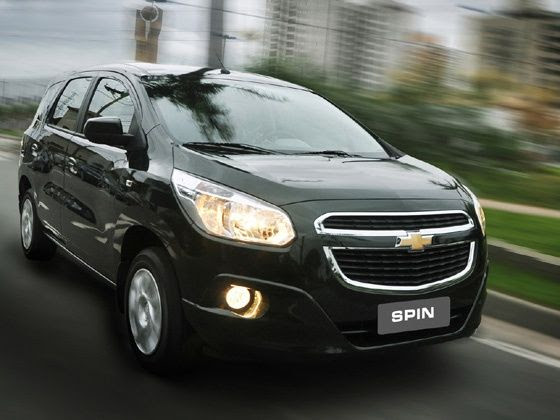 Chevrolet Spin MPV in action