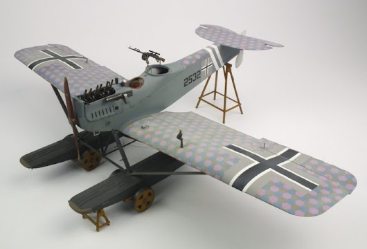 Building the Hansa Brandenberg W.29 - Wingnut Wings #32010 1/32 scale
