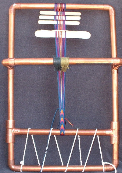 copper pipe band loom