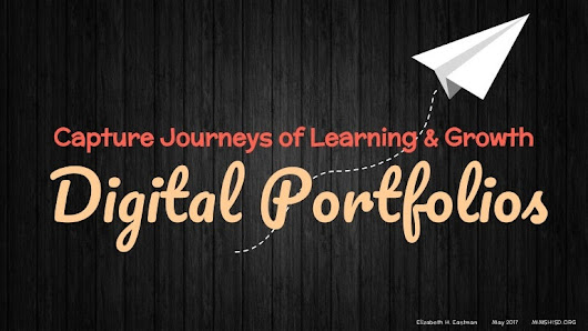 Digital Portfolios: Capture Journeys of Learning!