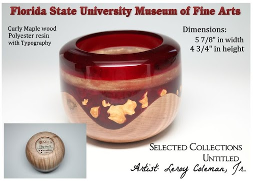 Florida State University Museum of Fine: SELECTED COLLECTIONS – Woodturning Artist, Leroy Coleman, Jr...