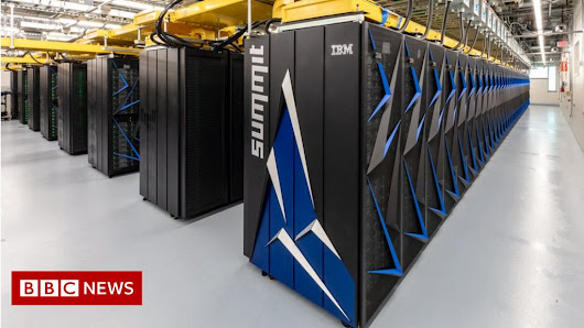 US builds world's fastest supercomputer