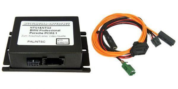 Multimedia Interface AV-IN - Mercedes, Porsche - NTG 1 / NTG 2 /