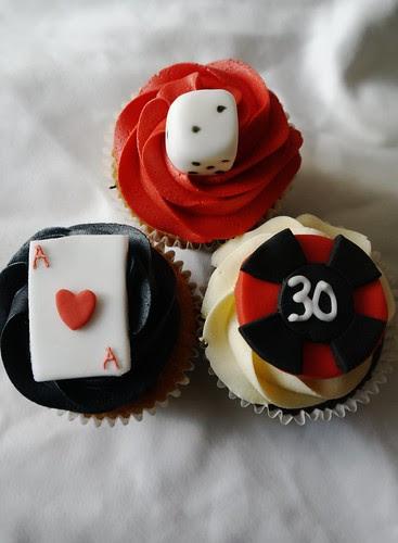Las Vegas/Casino Cupcakes