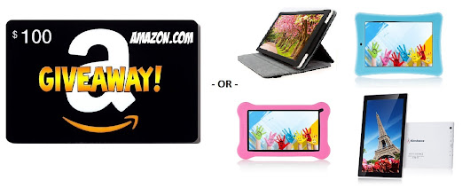 Amazon $100 Gift Card OR Android Tablet Giveaway