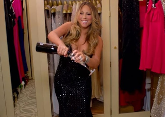 Mariah Carey's Engagement Ring Is Really Big