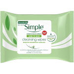 Simple Kind To Skin Cleansing Facial Wipes - 25 count