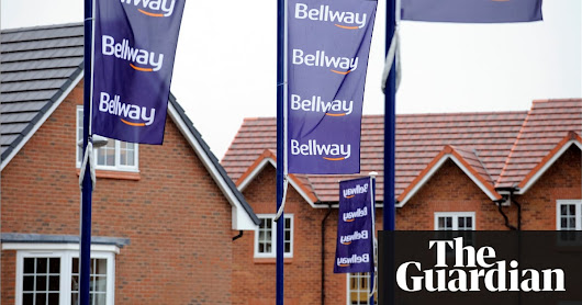 Bellway on track to build more than 10,000 homes this year | Business | The Guardian