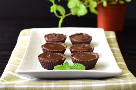 Chocolate Mint Fudge Tartlets Recipe (Dairy-Free & No Bake!)