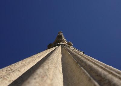 columna en Villa Adriana
