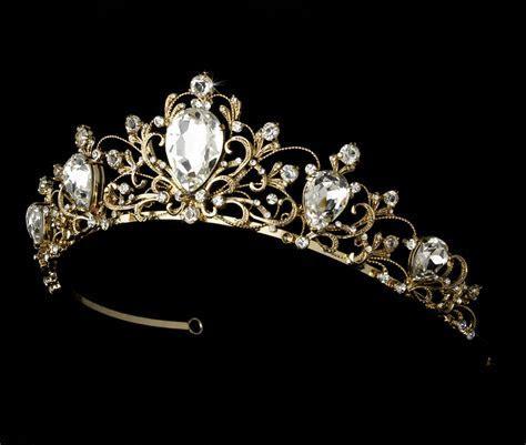 Gorgeous Bold Princess Wedding Tiara   Elegant Bridal Hair