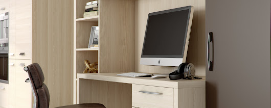Home Office & Studies - design & installation, Surrey - Raycross Interiors
