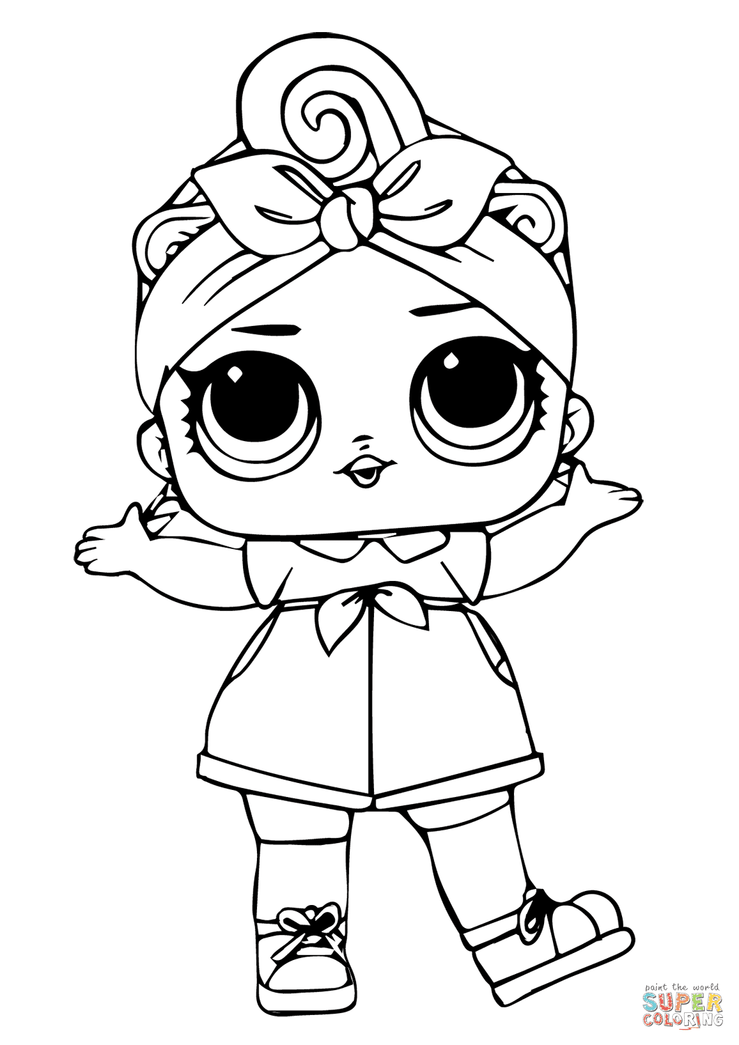 Can Do Baby LOL Surprise Doll coloring page | Free ...
