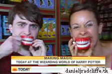 The Today show at The Wizarding World of Harry Potter (& NBC News)
