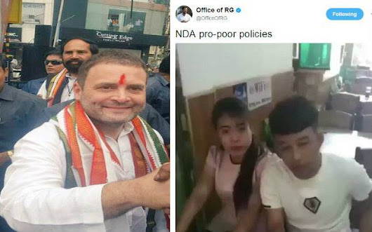 Rahul Gandhi tried trolling NDA governments pro-poor policies, ended up getting trolled himself