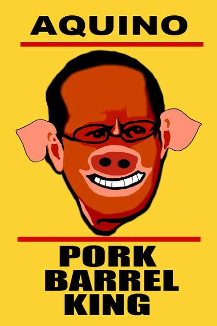kmu_aquino pork barrel king