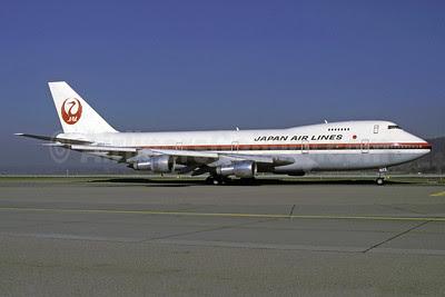 JAL-Japan Airlines Boeing 747-246B JA8114 (msn 20530) ZRH (Rolf Wallner). Image: 913440.