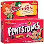 Flintstones Plus Iron Childrens Multivitamin Chewable Tablets - 60 Ea