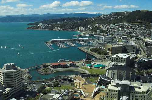 Wellington from the Majestic Centre