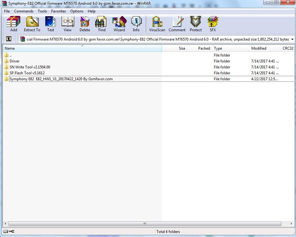 Symphony E82 Flash File