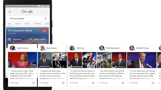 Google Will Now Fact Check Candidates Live During Debates, Show You Their Own Quotes