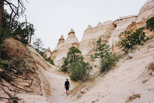 Hiking the Kasha-Katuwe Tent Rocks Trail in New Mexico