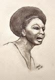 Nina Simone - online jigsaw puzzle - 77 pieces