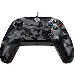PDP USB Controller for PC/Xbox One - Black Camo