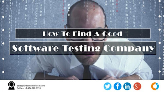 How To Find A Good Software Testing Company?