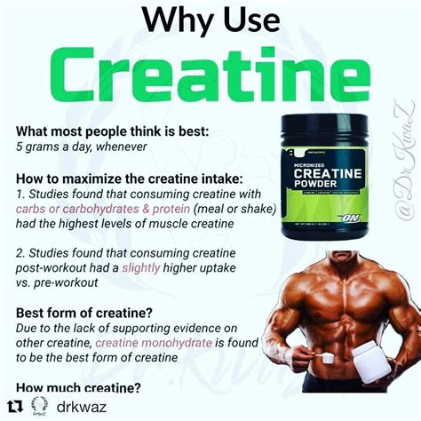 creatine supplement monohydrate side effects benefits