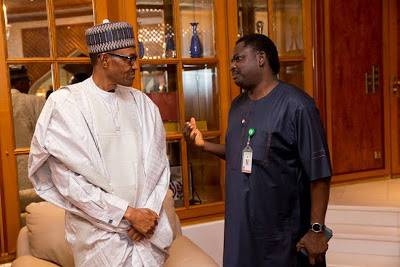 Image result for femi adesina and buhari
