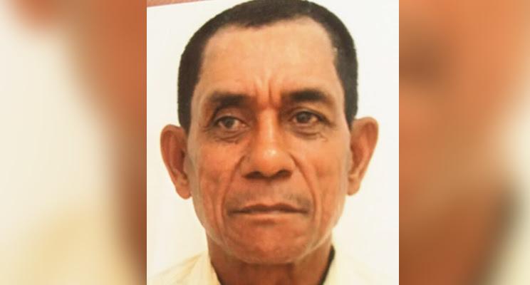 José Maria de 58 anos continua desaparecido