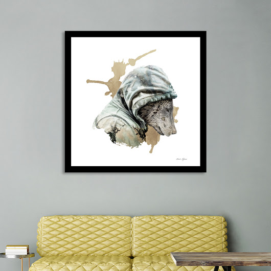 «Hibernation», Numbered Edition Affiches d'art by Claude Peyrouse - From $20 - Curioos