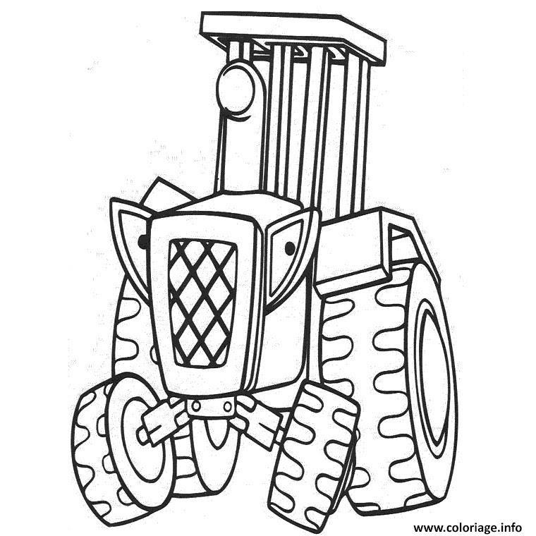 Coloriage Tracteur John Deere Jecoloriecom
