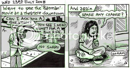 Pan-handlers comic