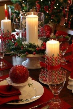 Christmas center pieces