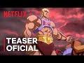 """Lançado o teaser de """"Mestres do Universo: Salvando Eternia"""" da Netflix"""