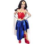 DC Super Hero Girls Wonder Woman Girls Costume - Medium (8)