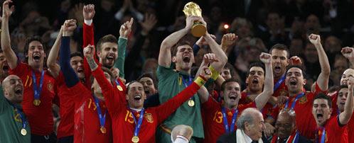 La Selección tributará en Sudáfrica las primas del Mundial para ahorrarse impuestos
