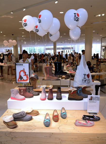 General view of atmosphere at Amber Montana celebrates the launch of I Heart UGG at Nordstrom - The Grove Los Angeles at The Grove on August 9, 2014 in Los Angeles, California.