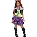 Monster High - Clawdeen Wolf Child Costume - Size Small