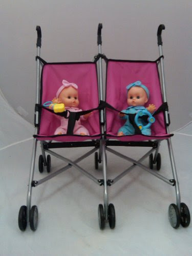 Baby Swing For Twins Mommy Amp Me Twin Doll Buggy With 9 Inch Twin Dolls Girl Amp Boy Incl Guide