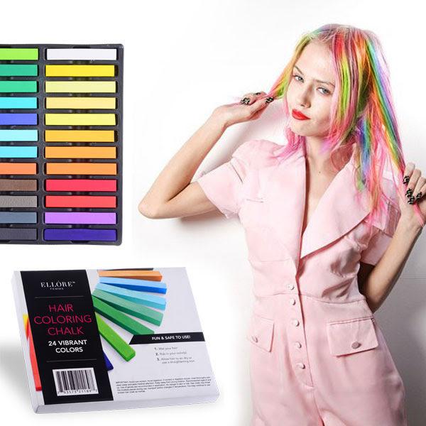 Ellore Femme 24 peice Hair Chalk set