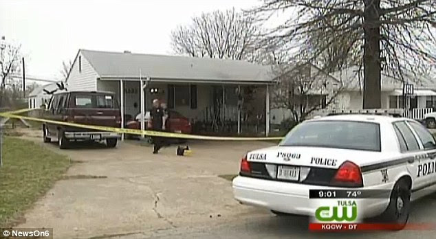 Attack: One of the couple's daughters discovered her parents unresponsive in their Tulsa home with their car, a television and $200 among the items missing