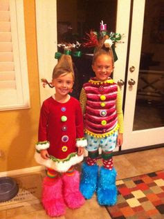 "@Erica Cerulo Cerulo Yeager  - Can we please do our hair ""who-style"" for this year's ugly sweater party? Yes, there WILL be another sweater party!"